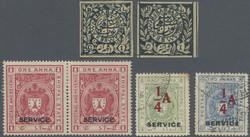3080: Indien Staaten Bhopal - Engros