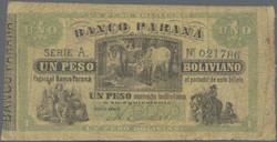 110.560.10: Banknotes – America - Argentina