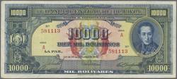 110.560.50: Banknoten - Amerika - Bolivien