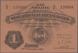 110.550.85: Banknotes – Africa - British West Africa