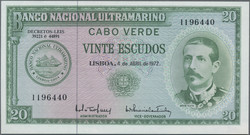 110.550.170: Banknotes – Africa - Cape Verde