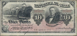110.560.70: Banknotes – America - Chile