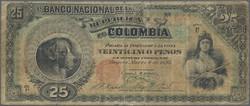 110.560.180: Banknoten - Amerika - Kolumbien