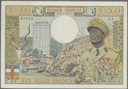110.550.25: Banknotes – Africa - Equatorial African States