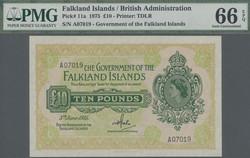 110.560.110: Banknoten - Amerika - Falkland Inseln