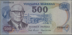 110.100: Banknotes - Finland