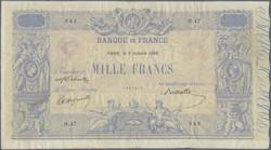 110.110: Banknotes - France