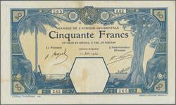 110.550.117: Banknoten - Afrika - Französisch Westafrika