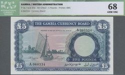 110.550.130: Banknotes – Africa - Gambia