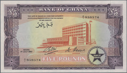 110.550.140: Banknotes – Africa - Ghana