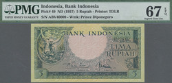 110.570.140: Banknotes – Asia - Indonesia