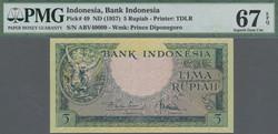 110.570.140: Billets - Asie - Indonésie