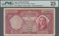 110.570.150: Banknoten - Asien - Irak