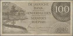 110.570.345: Banknoten - Asien - Niederländisch Indien