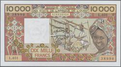 110.550.302: Banknoten - Afrika - Obersenegal und Niger