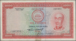 110.550.306: Banknotes – Africa - Portuguese Guinea
