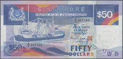 110.570.390: Banknoten - Asien - Singapur