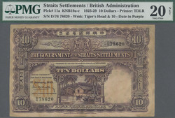 110.570.405: Banknotes – Asia - Straits Settlements