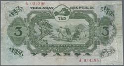 110.570.420: Banknoten - Asien - Tannu-Tuva