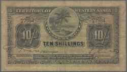 110.580.180: Banknoten - Ozeanien - West Samoa