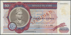 110.550.475: Banknotes – Africa - Zaire