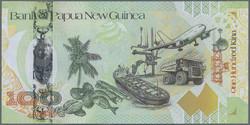110.580.100: Banknoten - Ozeanien - Papua Neuguinea