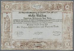 110.80.10: Banknoten - Deutschland - Altdeutsche Länder