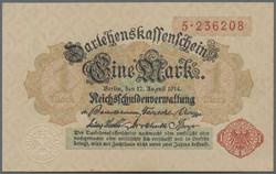 110.80.20.70: Banknoten - Deutschland - Deutsches Reich ab 1871 - Reichsbanknoten 1924-1945