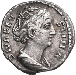 10.30.360: Antike - Römische Kaiserzeit - Faustina Maior, Gattin des Antoninus Pius