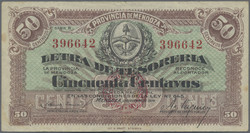 110.560.10: Banknoten - Amerika - Argentinien