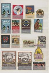7740: Sammlungen und Posten Vignetten - Vignetten