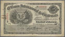 110.560.130: Banknoten - Amerika - Guatemala