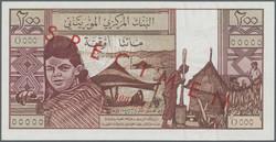 110.550.260: Banknoten - Afrika - Mauretanien
