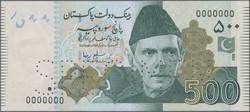 110.570.360: Banknoten - Asien - Pakistan