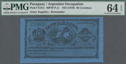 110.560.240: Banknoten - Amerika - Paraguay