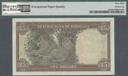 110.550.308: Banknoten - Afrika - Rhodesien