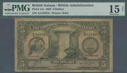 110.560.140: Banknoten - Amerika - Guyana