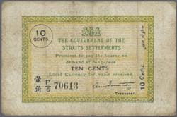 110.570.405: Banknoten - Asien - Straits Settlements