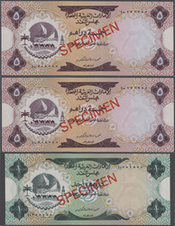 110.570.40: Billets - Asie - Emirats Arabes Unis.