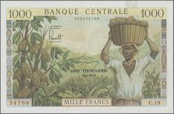 110.550.160: Banknoten - Afrika - Kamerun