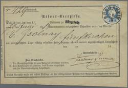 6335: Tschechoslowakei - Stempel