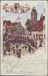 108940: Deutschland West, Plz Gebiet W-88, 894 Memmingen - Postkarten