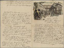 108000: Deutschland West, Plz Gebiet W-80, 800 München - Postkarten