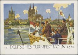 105000: Deutschland West, Plz Gebiet W-50, 500 Köln - Postkarten
