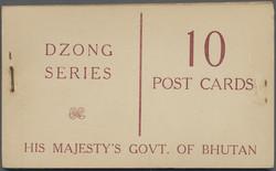 1890: Bhutan - Markenheftchen