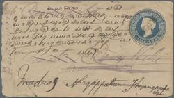1900: Birma - Ganzsachen