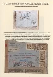 2705: Französisch Indochina Allgemeine Ausgaben - Sammlungen