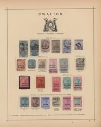 3175: Indien Staaten Jind Konventionsstaat - Sammlungen