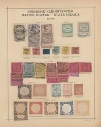 3259: Indien Staaten allgemein - Sammlungen