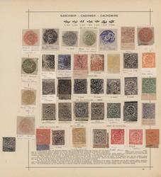 3180: Indien Staaten Kashmir - Sammlungen